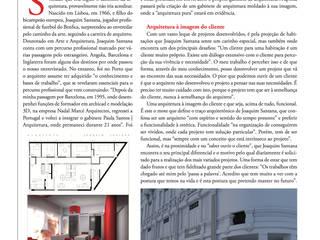 Entrevista por sjjotarquitectura Clássico