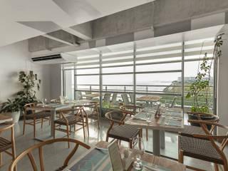 Minimalist conservatory by 8X8 Design Studio Co. Minimalist