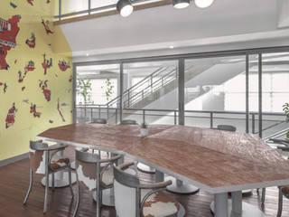 Minimalist dining room by 8X8 Design Studio Co. Minimalist