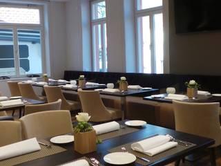 Gastronomía de estilo moderno de raum in form - Innenarchitektur & Architektur Moderno
