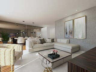 Modern Living Room by Donna - Exclusividade e Design Modern