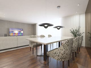 Modern Dining Room by Donna - Exclusividade e Design Modern