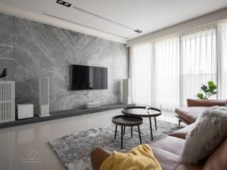 禾.和《坤山禾和》 根據 極簡室內設計 Simple Design Studio 現代風
