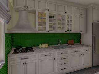 Mutfak Tasarımı Kırsal Mutfak Yeşil Aks Mimarlık Kırsal/Country
