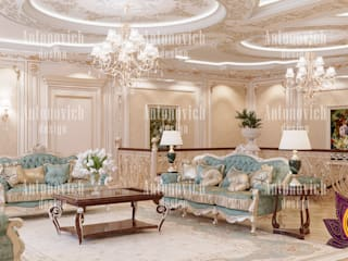 Exclusive Interior Design Ideas by Luxury Antonovich Design