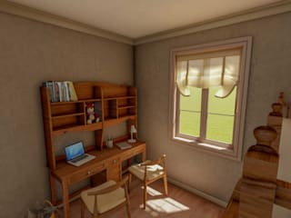 Çocuk Odası Tasarımı Klasik Çocuk Odası Yeşil Aks Mimarlık Klasik
