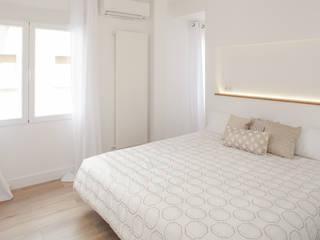 Nueva vivienda en Fuente del Berro WINK GROUP Dormitorios de estilo moderno Blanco