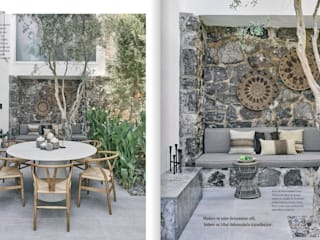 Bodrum Türkbükü B.A. Projesi Modern Bahçe AR+P Mimarlık Modern