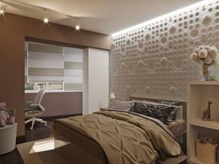 Современная квартира Детская комнатa в скандинавском стиле от Надежда Кокшарова Скандинавский