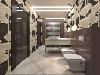 Современная квартира Ванная комната в скандинавском стиле от Надежда Кокшарова Скандинавский