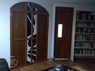 Phòng giải trí phong cách kinh điển bởi MKVidrio Kinh điển