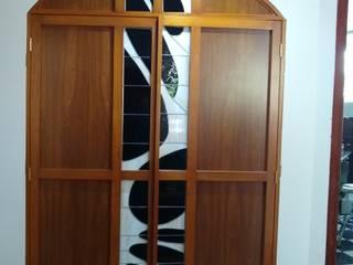 MKVidrio Classic style media room Glass Beige