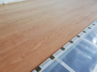 GRUPO CECATHER | FOLIO RADIANTE - SUELO RADIANTE Kamar Tidur Modern Wood effect