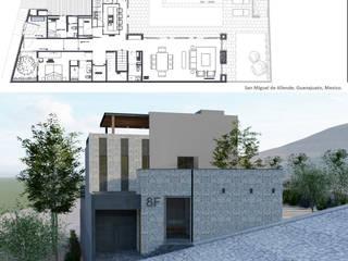 Casas estilo moderno: ideas, arquitectura e imágenes de Scale Arquitectos Moderno