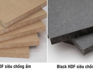 65 mẫu tủ bếp gỗ công nghiệp đẹp nhất giá chỉ từ 15 triệu: hiện đại  by Nội thất Hpro, Hiện đại