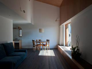 山崎の家 ミニマルデザインの ダイニング の 横山浩之建築設計事務所 ミニマル