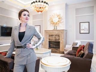 Светлана Антонович о концептуальном дизайне интерьера и реализации проектов Гостиные в эклектичном стиле от Студия Luxury Antonovich Design Эклектичный