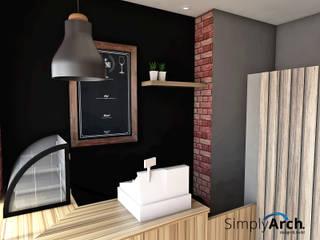 de estilo industrial por Simply Arch., Industrial