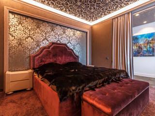 Неоклассика с лофтом Спальня в стиле лофт от Надежда Кокшарова Лофт