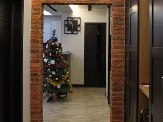 Причесанный лофт Коридор, прихожая и лестница в стиле лофт от Надежда Кокшарова Лофт