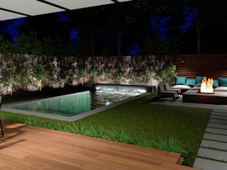 Proyecto de paisajismo Canido, Vigo ARomeroPaisajismo Jardines de estilo mediterráneo