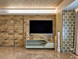 Worli Residence Modern living room by Inscape Designers Modern