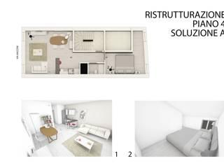Ristrutturazione negozio e appartamenti in centro storico a Verona studiolineacurvarchitetti