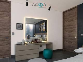 ARQA CONCEPT DESIGN SA DE CV Minimalist bedroom