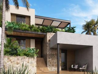 Casa 04 Casas modernas de Maquita Arquitectos Moderno