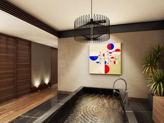 Interiorismo Baños modernos de Maquita Arquitectos Moderno