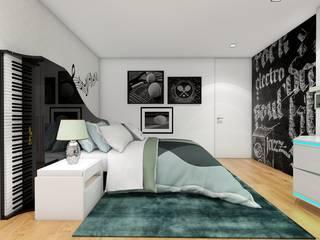 PROJECTOS 3D por Inarte Interiores Moderno