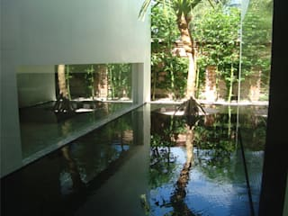 Ambiente Arquitectos Asociados, S.A de C.V. Garden Pond