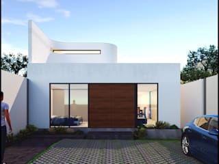 CI_AM Casas modernas de Geometrica Arquitectura Moderno