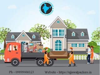 5 Questions to Consider While Relocating Your Home from Delhi by Ujjawal Packers and Movers Iндустріальний