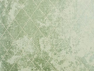 A Geometric Glittery Wallpaper Design With A Diamond Pattern von Mineheart Ausgefallen