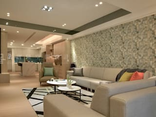 Modern Living Room by SING萬寶隆空間設計 Modern