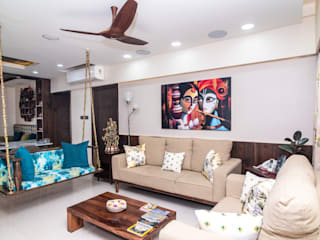 ARK Architects & Interior Designers Asian style living room