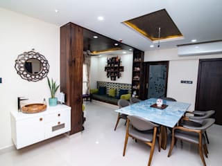 ARK Architects & Interior Designers Asian style dining room