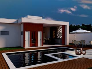 من Marcelle de Castro - arquitetura|interiores حداثي