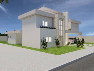 Residência IL por Marcelle de Castro - arquitetura|interiores Moderno