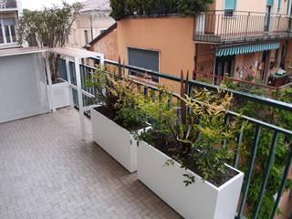Mattia Boldrin Garden Design Varandas, alpendres e terraços modernos