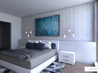 Hogar cálido Miami by Amvar Home Modern