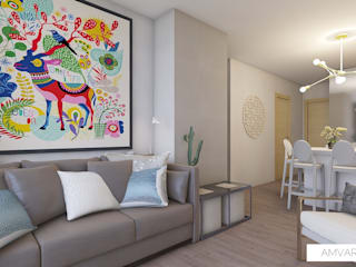 Modern Home Modern Living Room by Amvar Home Modern