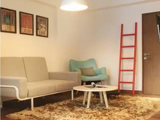 1+1 Apartment Ruang Keluarga Gaya Skandinavia Oleh Arkitekt Studio Skandinavia