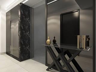 Pasillos, vestíbulos y escaleras de estilo moderno de NUUN MİMARLIK Moderno