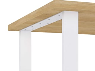 KionHome Dining roomTables Chipboard White
