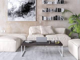 KionHome EsszimmerTische Metall Weiß