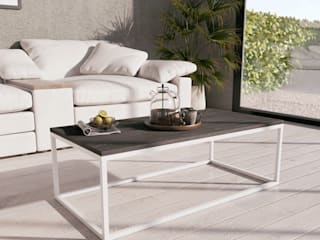 KionHome Dining roomTables Metal White