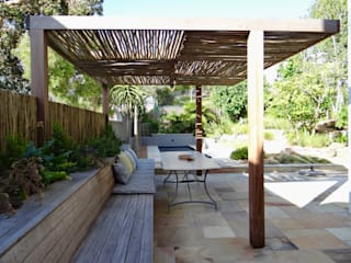 Holiday Home Renovation - Exterior Garden Terrace by Turquoise