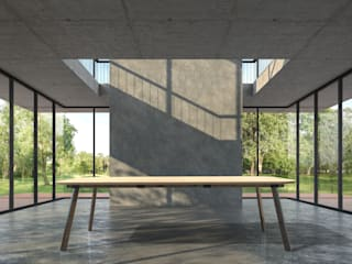 Milan Table van Cartoni Design